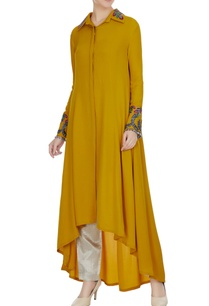 mustard-yellow-double-georgette-resham-embroidered-tunic