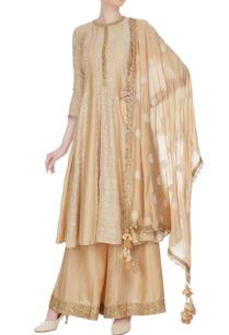 light-beige-thread-embroidered-kalidar-kurta-set