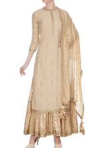 beige-silk-linen-raw-silk-kurta-set
