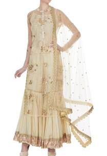 beige-cotton-printed-embroidered-kurta-with-sharara-dupatta