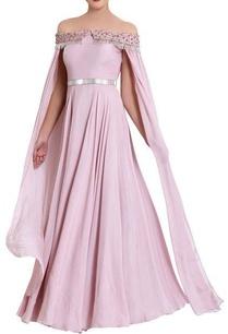 lavendar-zardozi-work-gown