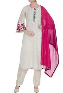 white-cotton-embroidered-kurta-with-chanderi-salwar-pink-dupatta