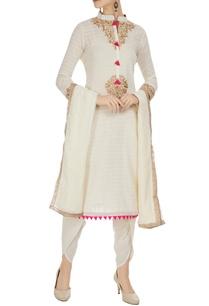 ivory-machine-embroidered-cotton-kurta-set