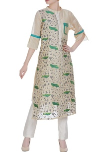 chanderi-floral-embroidered-kurta