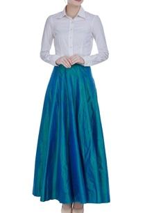 tissue-flared-pleated-maxi-skirt
