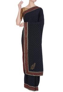 sequin-bead-embellished-saree