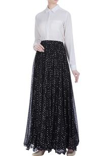 mukaish-embroidered-pleated-lehenga-skirt