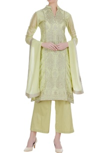 chanderi-badla-embroidered-kurta-set