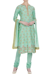 thread-embroidered-floral-kurta-set