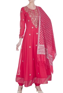 gota-patti-embroidered-anarkali-set