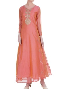 pure-chanderi-silk-kurta-with-anarkali