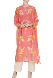 pink-floral-printed-kurta-with-pants