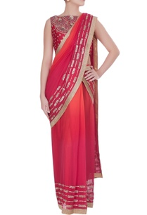 ombre-sequin-cutdana-embroidered-pre-draped-sari-with-blouse