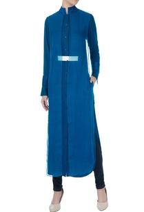 celestial-blue-cotton-satin-shirt-with-organza-layer