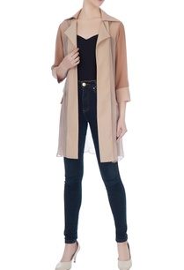 beige-georgette-front-open-jacket