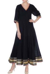 black-cotton-gotta-patti-anarkali