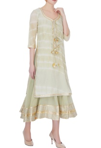 dull-green-cotton-gotta-patti-anarkali