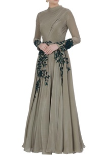 grey-crepe-silk-sequin-embroidered-gown