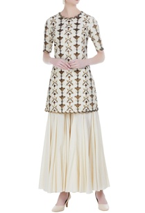 embroidered-kurta-with-paneled-sharara-pants