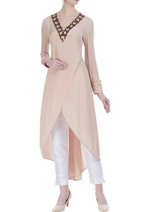 embroidered-asymmetrical-kurta