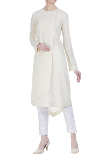 overlap-layered-kurta-with-asymmetrical-hemline