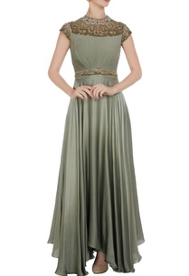 embroidered-gown-with-asymmetric-hemline