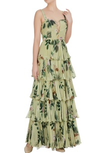 green-tiered-style-maxi-dress