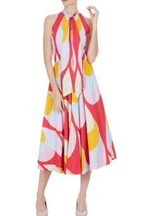 multicolored-midi-sundress-with-tie-up-detail
