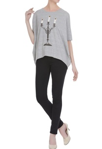 grey-antique-candlesticks-cutdana-embroidered-loose-t-shirt