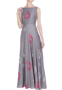 grey-pink-perfume-printed-maxi-dress