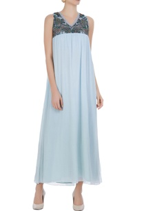 light-blue-hand-embroidered-maxi-dress