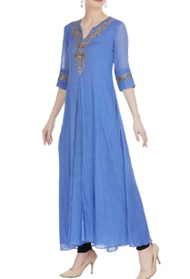 blue-mulmul-double-layered-kurta