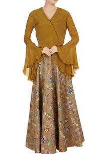 multicolored-chintz-floral-printed-dupion-silk-maxi-skirt
