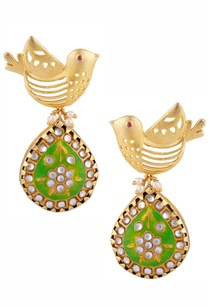 meenakari-bird-motif-earrings