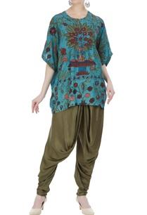 hand-painted-kalamkari-tunic