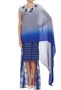 wrap-style-hand-woven-dress