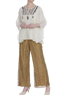 cutwork-embroidered-palazzo-pants