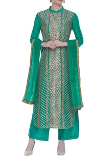 silk-chanderi-kurta-set