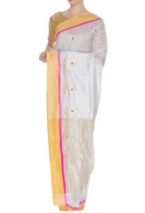 chanderi-zari-sari-with-unstitched-blouse
