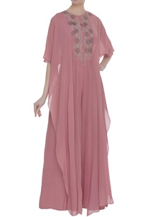 hand-embroidered-sequin-draped-style-jumpsuit