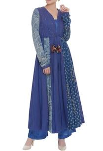 flared-mukaish-embroidered-kurta-with-pants
