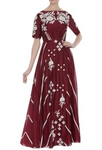 chanderi-silk-hand-embroidered-sequin-dress