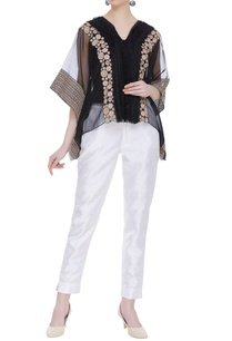 sheer-organza-embroidered-poncho-blouse-with-inner