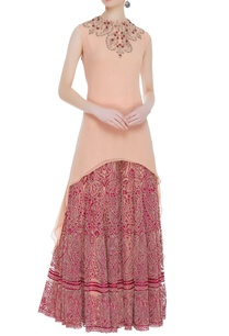 high-low-bead-sequin-embroidered-kurta-set