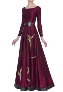 raw-silk-sequin-gown