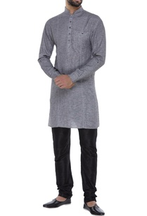 dual-color-textured-swiss-cotton-kurta-set
