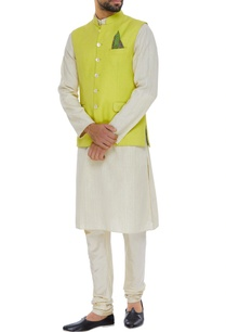matka-silk-nehru-jacket-set