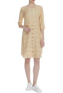printed-shirt-dress