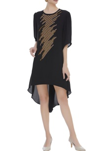 embroidered-dress-with-asymmetric-hemline