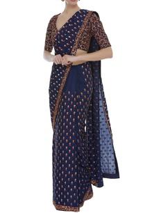 resham-embroidered-sari-blouse